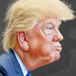 From flickr.com: Donald Trump- Caricature {MID-170056}