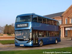 New Bus for Wales (Cymru Coastliner) Tags: arrivabuseswales newbusforwales enviro400city 6999 sn66wlk bus demonstrator chester