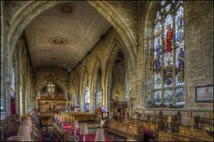 Olney Church Interior 7 (Darwinsgift) Tags: olney church buckinghamshire england pce nikkor tilt shift 24mm f35 nikon d810 hdr photomatix interior