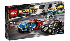 LEGO Speed Champions 75881 - Ford GT 2016 & Ford 1966 GT40 (THE BRICK TIME Team) Tags: lego brick 2017 speed champions racer