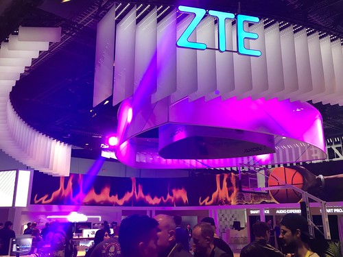 While you might think this booth is the exception, it is actually quite tame in comparison to the many other exhibitors at #CES2017