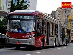 7 6334 Gatusa (busManíaCo) Tags: busmaníaco nikond3100 nikon d3100 ônibus urbano caioinduscar gatusa caio millennium brt articulado mercedesbenz o500uda bluetec 5