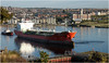 Departing Barry Docks (Welsh Gold) Tags: bomar quest chemical tanker ship dow corning barry docks southwales