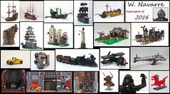 Highlights of 2016 (W. Navarre) Tags: lego 2016 year review pirate cowboy awesome bouya