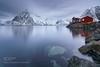 Hamnoy blue hour (sergeyashin) Tags: ifttt 500px landscape sunrise nature norway lofoten reine myrland hamnoy