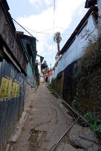 Narrow lanes of Darjeeling