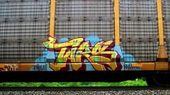 tars (timetomakethepasta) Tags: tars aa crew freight train graffiti art autorack tap was
