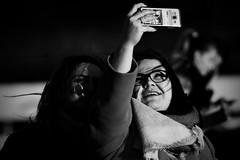 selfie sisters (Dirty Thumper) Tags: sony nex nex5n mirrorless minolta mc md prime 200mm legacy tele telephoto manual monochrome bw street kraków cracow cracovie krakau クラクフの街 cracovia краков 城市克拉科 city candid people girls cell phone selfie