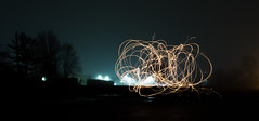 Sparkles (bboneyardd) Tags: longexposure long exposure nikond5200 nikon 5200 sparkler sparks fog night lights time girlfriend