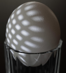 Shadow Play (j.towbin ©) Tags: allrightsreserved© egg macro macromondays light shadow glass stilllife