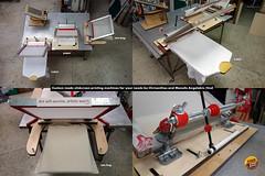 Custom Handmade Silkscreen Printing Machines (tind) Tags: silkscreen silk screen screenprint print printmaking machine 3d plywood tind angelakis handmade custom
