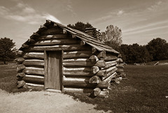 Valley Forge Outer Line Defenses Log Cabin (cmfgu) Tags: valleyforge pennsylvania pa national historical park revolutionary war may 2010 log cabin outer line defense sepia craigfildesfineartamericacom art wall canvasprint framedprint acrylicprint metalprint woodprint greetingcard throwpillow duvetcover totebag showercurtain phonecase sale sell buy purchase gift craigfildes artist photographer photograph photo picture prints craigfildesphotography