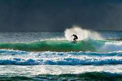 Harmony (Nomadic Vision Photography) Tags: australia newsouthwales travel theentrance dramatic harmony surfing backlight nature lifestyle simplicity