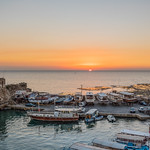 Byblos Port At Sunset thumbnail