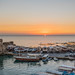Byblos Port At Sunset
