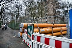 - orange city pipes - (-wendenlook-) Tags: color colors rohre pipes orange berlin baustelle panasonic dmcgx7 gx7 123528 buildingsite kreuzberg 24mm 1250 f32 iso200