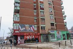 Donald Trump poster in North Mitrovica (Timon91) Tags: serbia servië serbien servie србија србије srbije srbija kosovo kosova kosovë косово mitrovica mitrovicë kosovska sever митровица косовска север