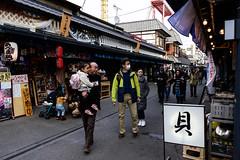 Asakusa Snap - Arcade (H.H. Mahal Alysheba) Tags: asakusa tokyo snapshot wide people street japan nikon d800 carlzeiss zeiss distagon 28mmf2