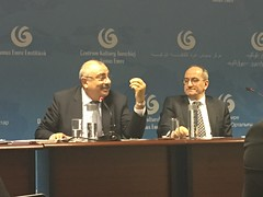 Deputy Prime Minister of Turkey Tuğrul Türkeş & Turkey Ambassador Abdurrahman Bilgiç