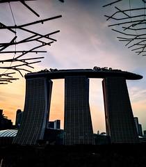 Marina Bay Sans (Daniel.Koh) Tags: sunset marina bay sans singapore city light