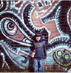 wall art by beezy.... (bluenightayers) Tags: mercercounty princeton wv graffiti