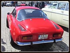 Alpine Renault A110 (v8dub) Tags: auto old classic car sport germany french deutschland automobile 110 automotive super voiture renault alpine oldtimer oldcar allemagne supercar bremerhaven collector niedersachsen wagen pkw klassik a worldcars