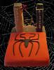 Spider-Man Cake (foqus) Tags: man cake spider rice treats spiderman marvel krispy fondant isomalt