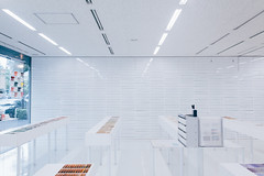 wall of drawers (ken_tsuda) Tags: urban white japan paper japanese tokyo nikon cityscape interior company simplicity sample  fx simple drawers takeo   d810 kentsuda fullframe 20150907mtake paper12 20150907mtakepaper1254