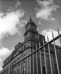 Aberdeen Harbour Board Building, Aberdeen, 2015 (Dr John2005) Tags: blackandwhite building architecture scotland aberdeenshire unitedkingdom aberdeen analogue ilfordfp4 mamiya7ii harbourboard 80mmlens johnperivolaris georgewashingtonwilson citiesofghosts