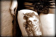 Lemme have a squizz... (Papa Razzi1) Tags: tattoo leg alexandra winner tat 2015 5784 242365 inkjob sthlminkbash2015