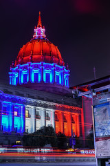 14 (pbo31) Tags: sanfrancisco california city red summer black color night america dark nikon cityhall 911 illuminated september busstop tribute remembrance redwhiteandblue civiccenter 2015 vannessavenue boury pbo31 d810