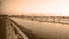 playing with TS angles! (Wendy:) Tags: marina fence mono harbour walkway yachts railing pontoons moorings dunlaoghaire