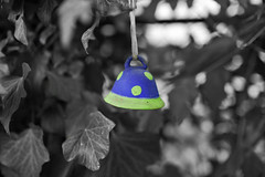 Bell (I Love Canon <3) Tags: blackandwhite bw abstract photoshop garden other bell f2 fusion cs3 canoneos1ds bluszcz ef35f14lusm ozdoba