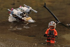 Bad Luck Luke (DNPhotographyYYC) Tags: canada nerd starwars geek lego outdoor britishcolumbia lukeskywalker