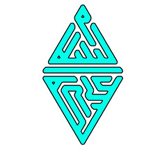 assalamu aleikum (Ahmadzeid) Tags: blue art geometric peace you islam style squared salam rhombus  kufi sunnah