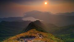 Sunset Clouds Of Hong Kong @ 2015-09-28 (kuno mejina) Tags: sunset mountain zeiss canon landscape hongkong eos bay hiking  magicmoments sunsetclouds magichour   ultrawideangle canonphotos thisishongkong ultrawideanglelens canoneos1dx zeissdistagont2815ze canonfullframer