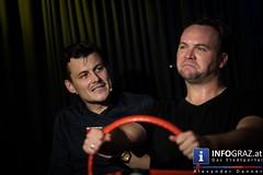 Stipsits und Rubey im Theatercafé Graz