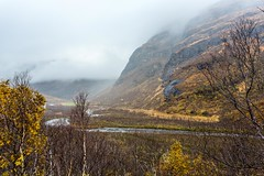 Leirskarddalen Norway (Einar Schioth) Tags: trees cliff cloud mountain mountains water norway fog clouds canon river norge photo day outdoor ngc picture autumm nationalgeographic autummcolors einarschioth leirskarddalen