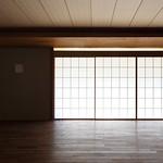 木造軸組構法(在来工法)による住宅の写真