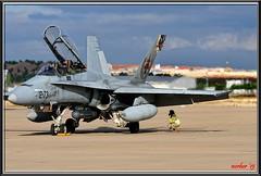 Calentando motores (raktargy) Tags: nikon fighter leto ejercitodelaire toj ala12 baseaéreadetorrejón d300s ce1015 mcdonnelldouglasef18bhornet