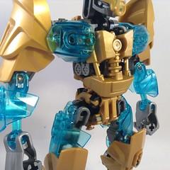 Ekimu, The Mask Maker (2.0) 05 (MrBoltTron) Tags: lego mask creation 20 maker bionicle redesign revamp 2015 ekimu