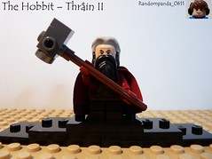 Thráin II (Random_Panda) Tags: film movie lego fig dwarf lord lotr rings figure minifig minifigs hobbit figures figs dwarves thorin minifigure the minifigures thráin