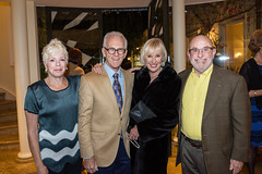 LACO board member Raulee Marcus, LACO gala co-chairs Sandy and Pat Gage and LACO board member Stephen Block