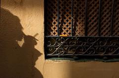 La sombra (miguelangelortega) Tags: wood textura window wall ventana pared madera fuji cigarette ciudad sombra fumar cigarro rejas encendedor mechero somoke celosa rejera ltytr2 ltytr1 fujifilmx100s