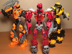The Nitronians (xFlashDx) Tags: toy lego action technic figure bionicle 2015