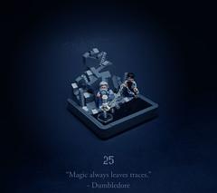 25 - The Seer Overheard (Melan-E) Tags: harry potter half blood prince magical journey horcrux cave locket dumdledore boat skull lego afol toronto torolug