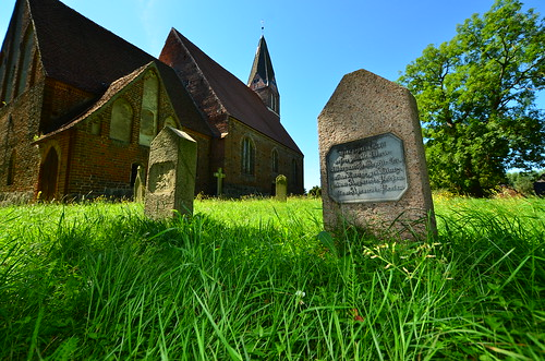 Alter Friedhof in Zirkow, Rügen