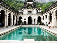Parque Lage, Rio de Janeiro. (ravalli1) Tags: rio brazil parquelage riodejaneiro vacations 2016 jardimbotanico corcovado southamerica city lumixlx100