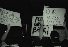 Our Voices Matter (diehesh) Tags: analog bw black white 400 iso 400iso