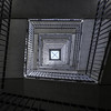 Vertigo (Job I) Tags: stairs symmetry interior concrete gray spiral light fugue geometry lines convergence